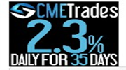 JOIN CME TRADES LTD. EARN 2.10%  Daily for 20 Calendar days & Principal  Back After Maturity
